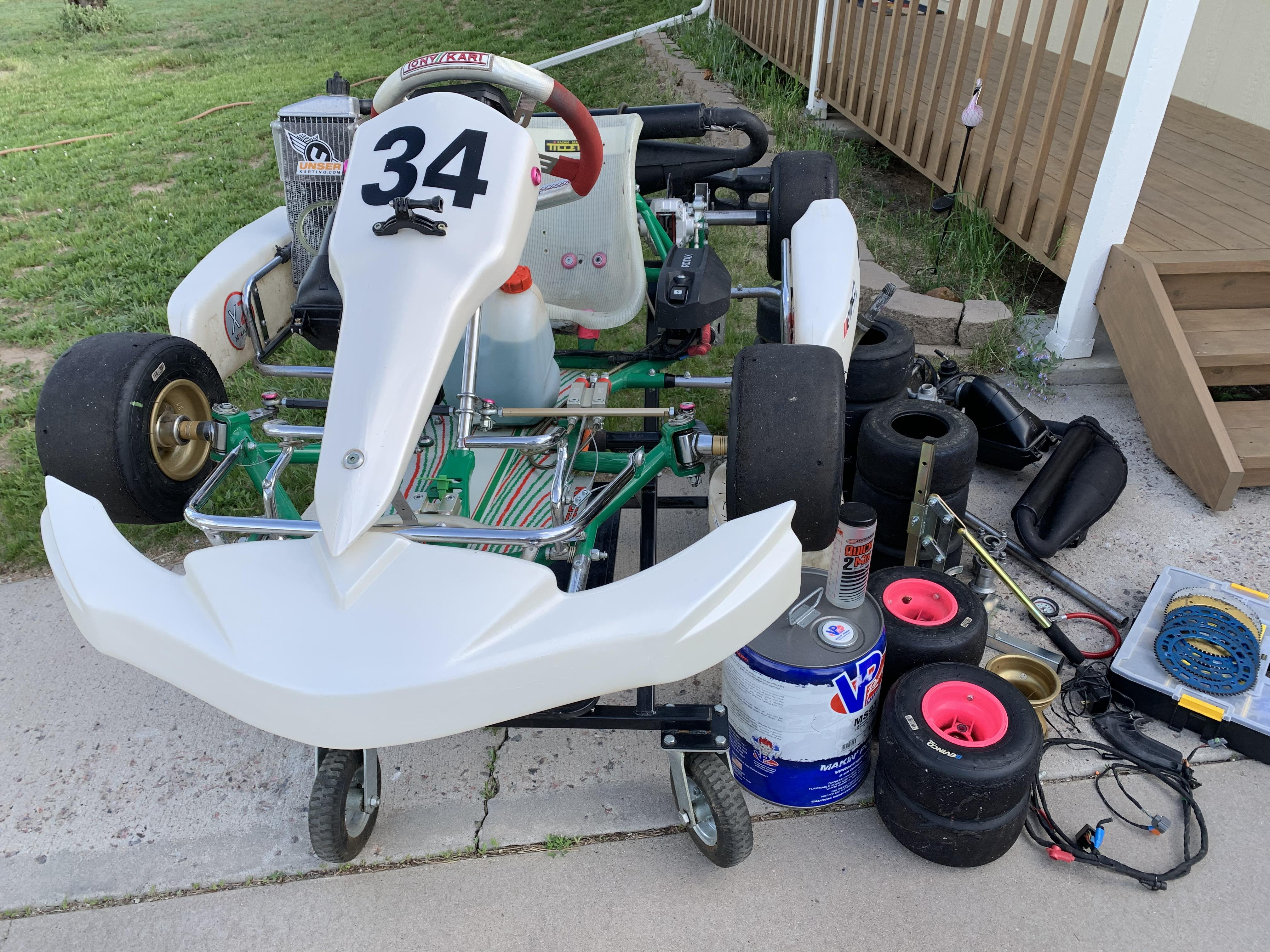 Kart and Extras